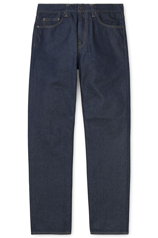 Carhartt WIP Pant Jeans PONTIAC Blue Rinsed