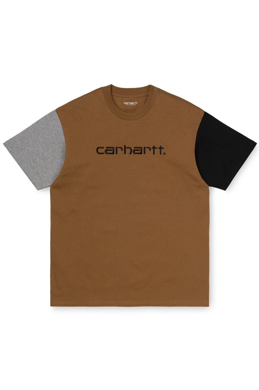 Carhartt WIP T-Shirt S/S CARHARTT TRICOL T-SHIRT Hamilton Brown