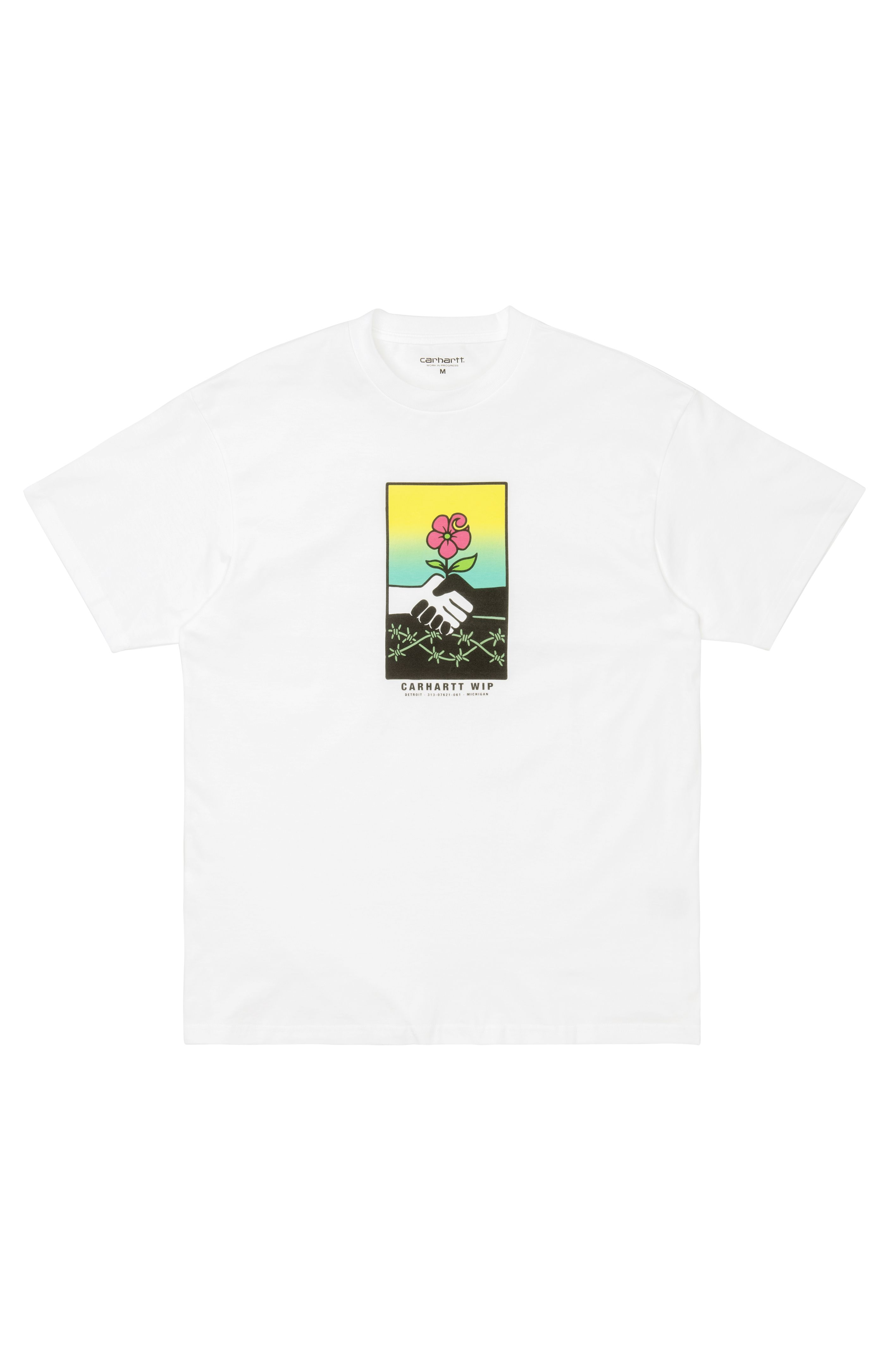 T-Shirt Carhartt WIP S/S TOGETHER T-SHIRT White