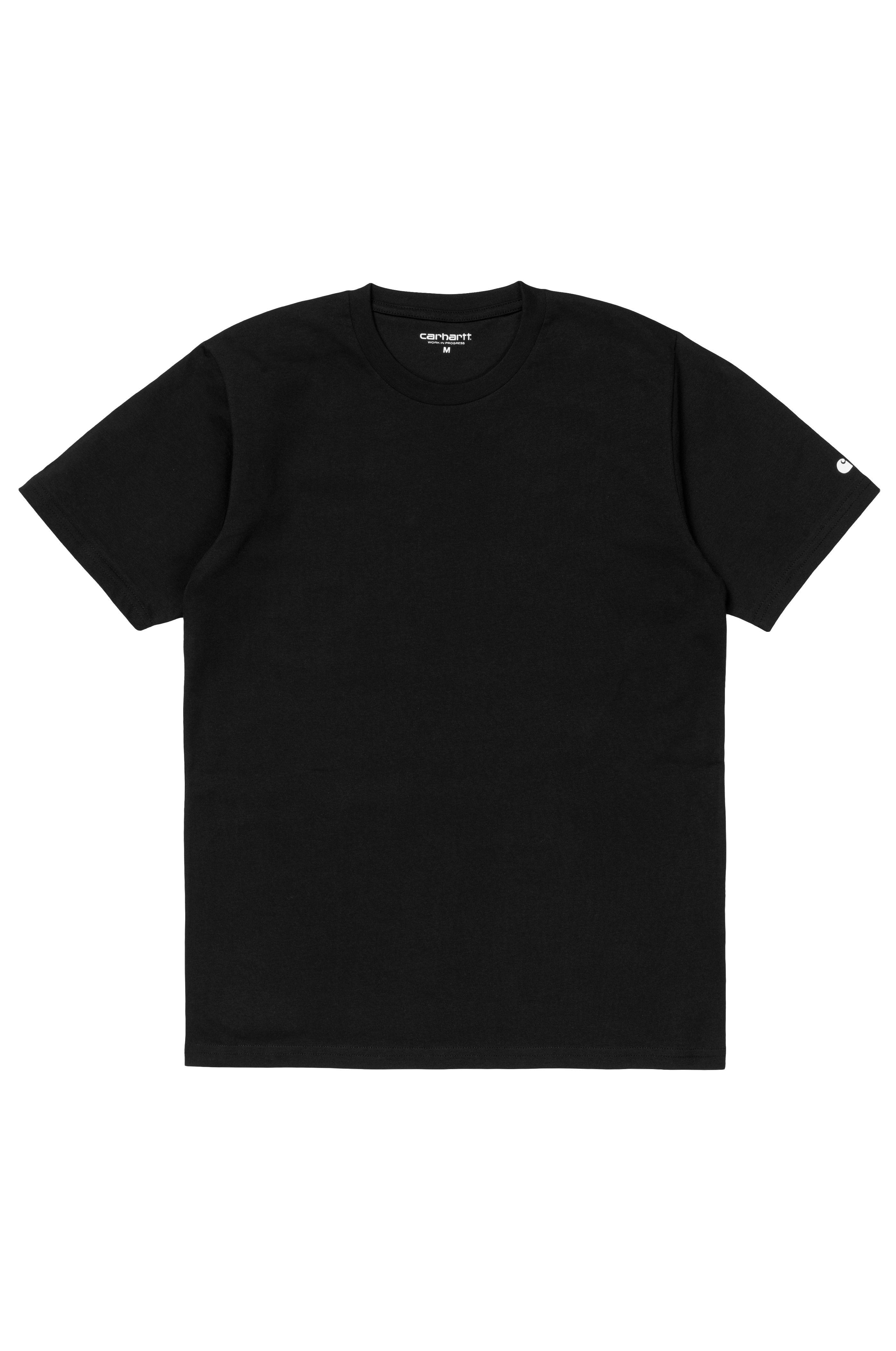 T-Shirt Carhartt WIP BASE Black/White