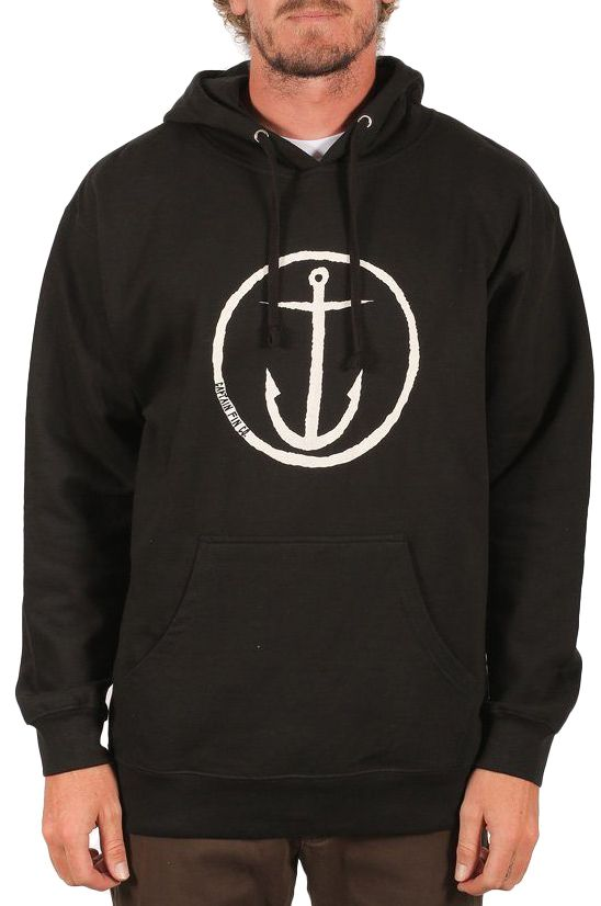 Sweat Capuz Captain Fin OG ANCHOR Black