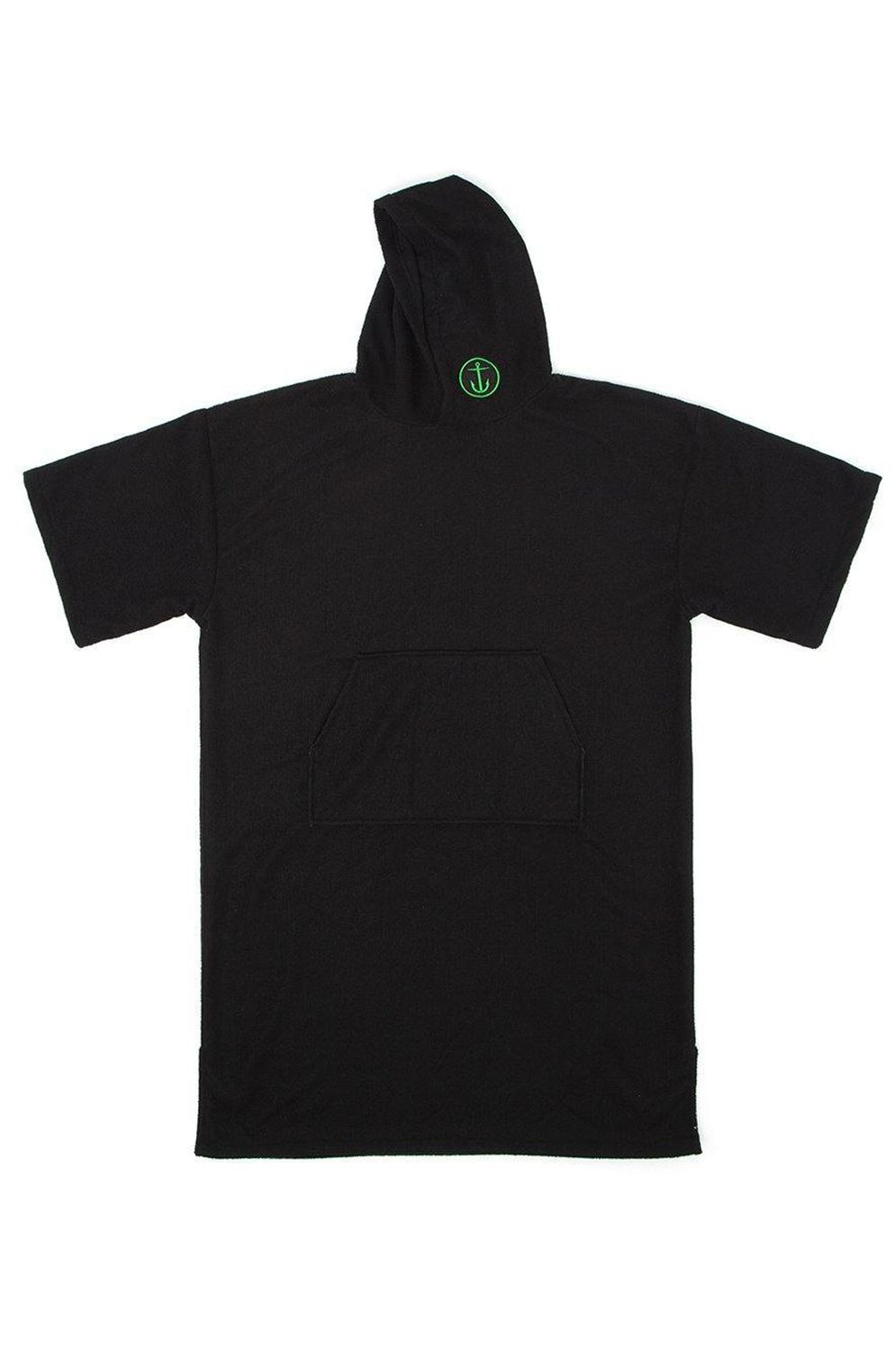 Poncho Captain Fin CHANGING ROBE Black