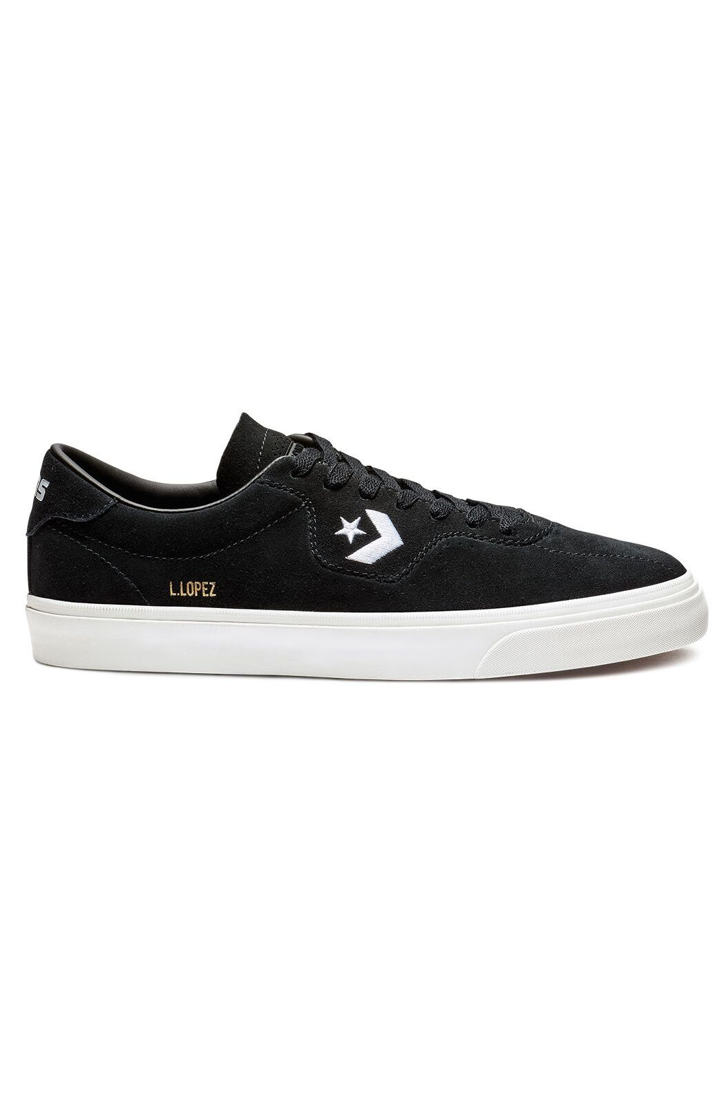 Converse Shoes LOUIE LOPEZ PRO OX Black/Black/White