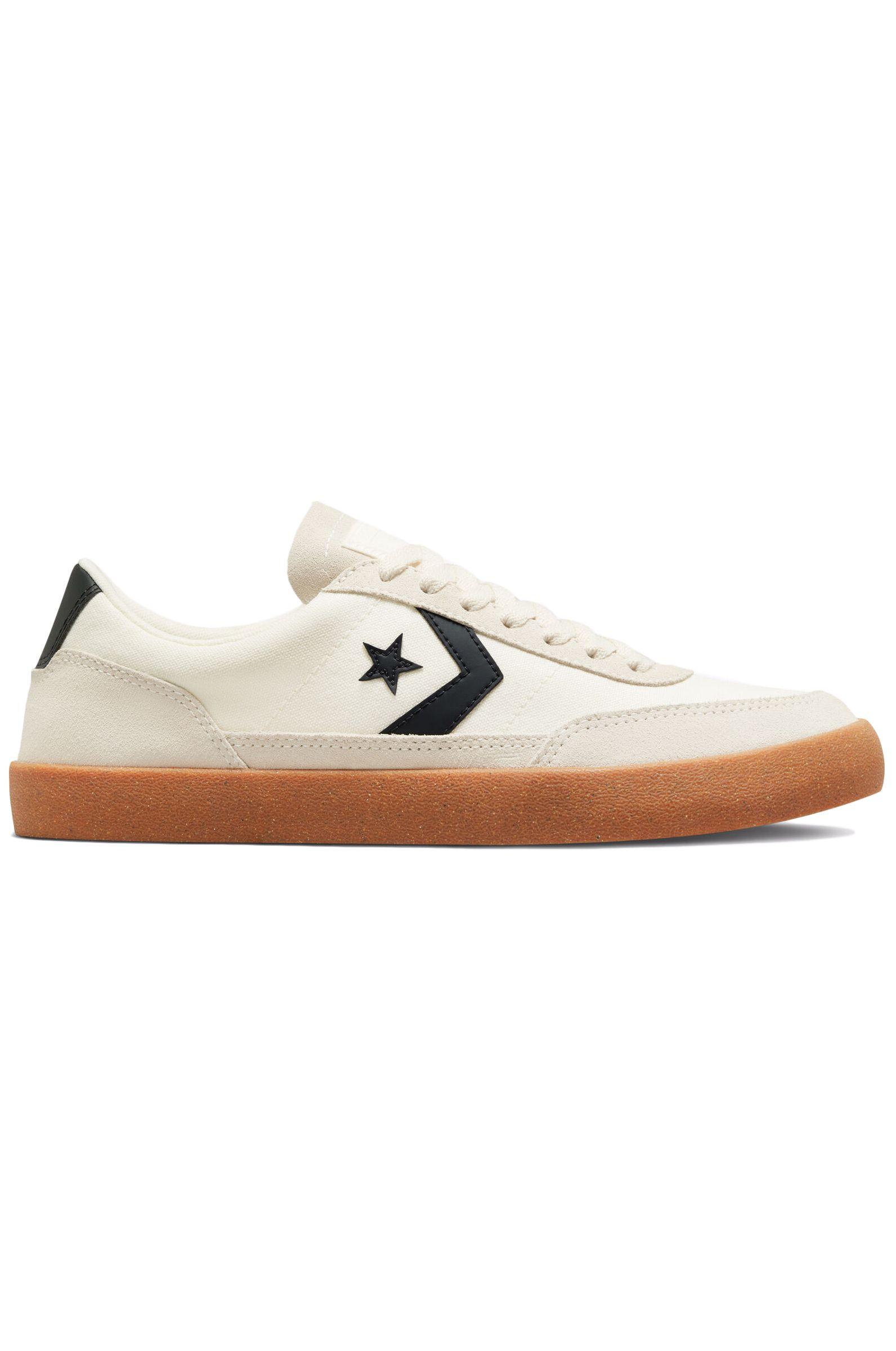Converse Shoes NET STAR CLASSIC OX Egret/Black/Gum Honey
