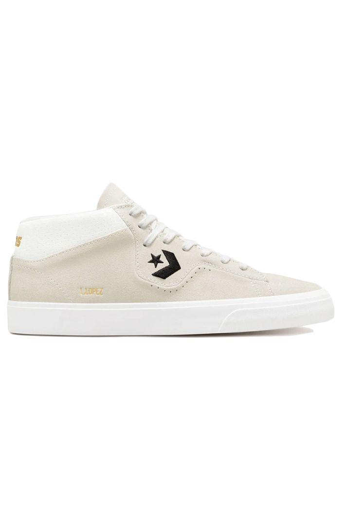 Converse Shoes LOUIE LOPEZ PRO MID White/Black/White