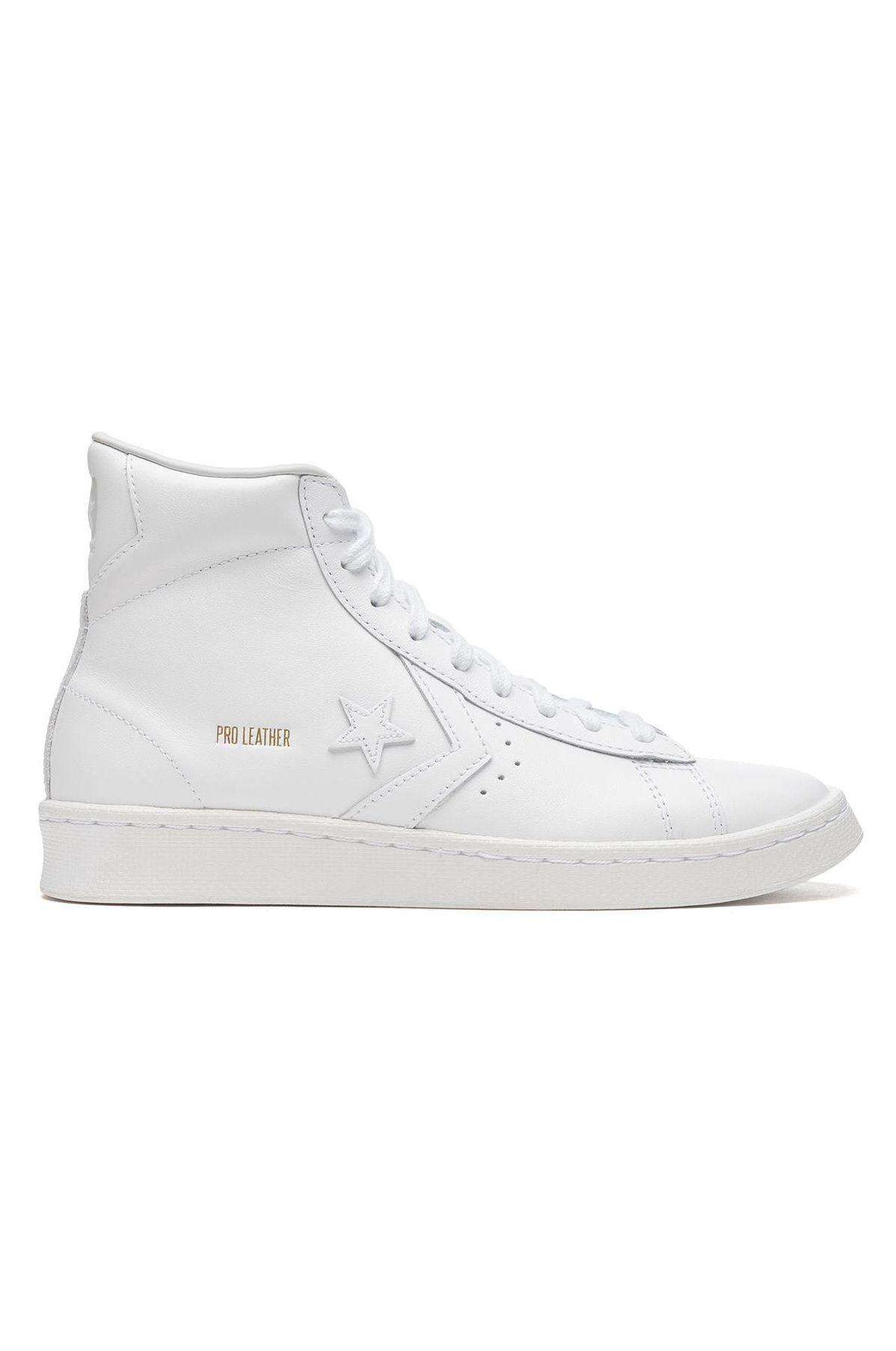 Converse Shoes PRO LEATHER HI White/White/White