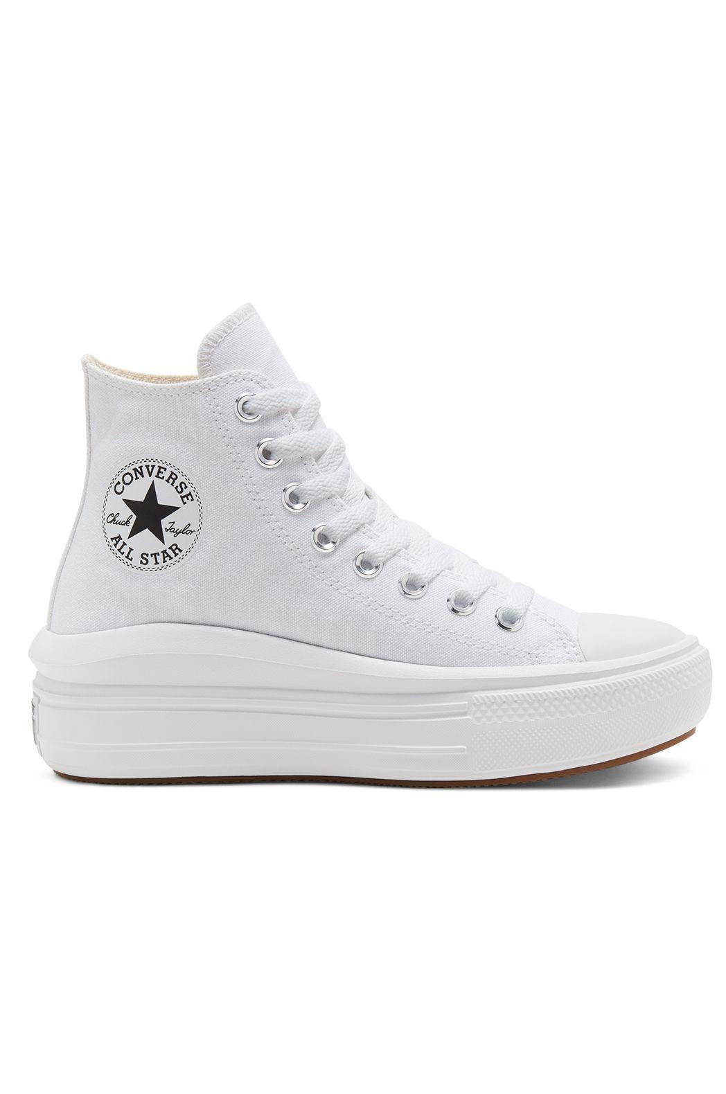 Tenis Converse CHUCK TAYLOR ALL STAR MOVE HI White/Natural Ivory/Black