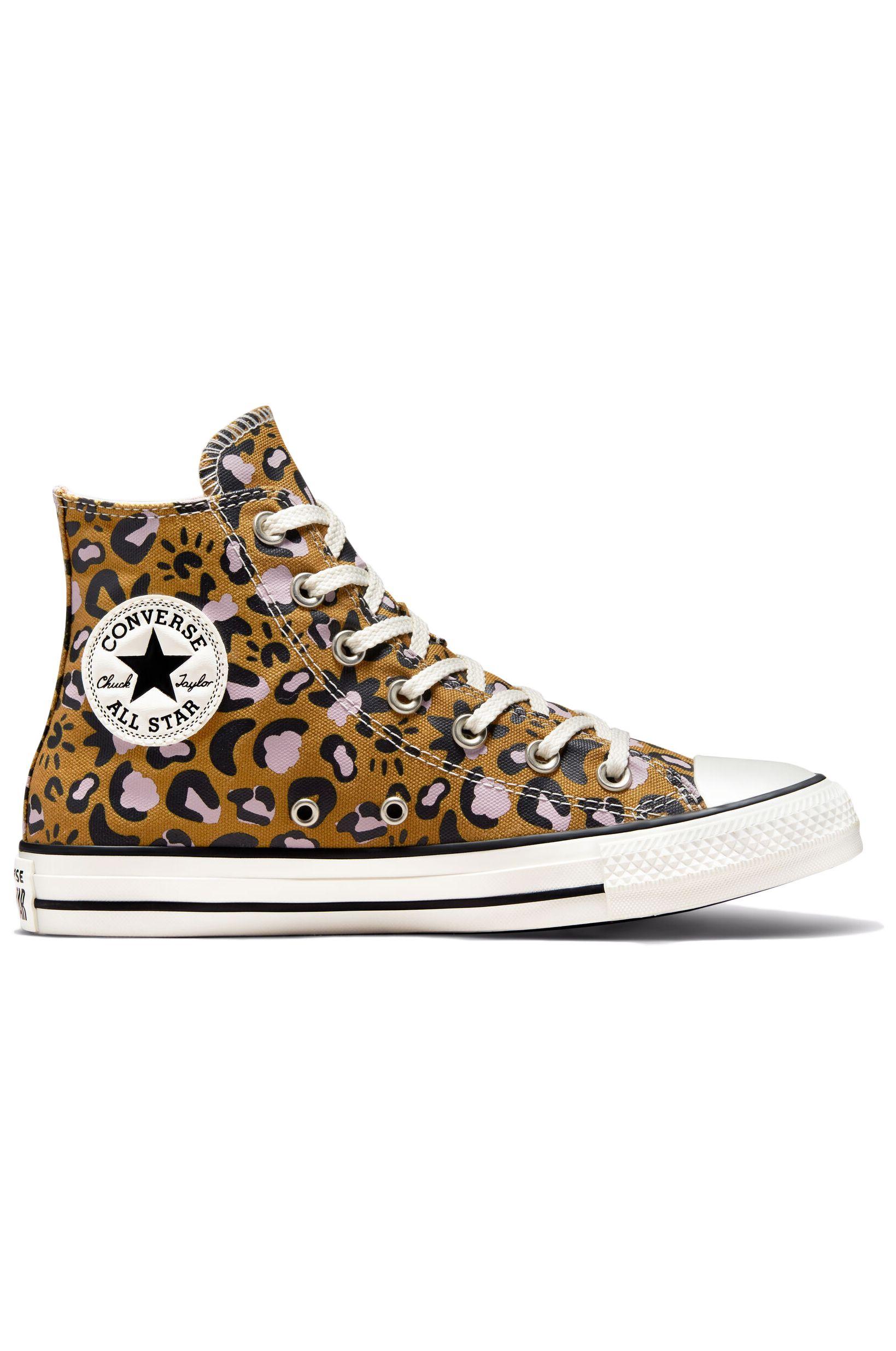 Converse Shoes CHUCK TAYLOR ALL STAR HI Wheat/Black/Pink