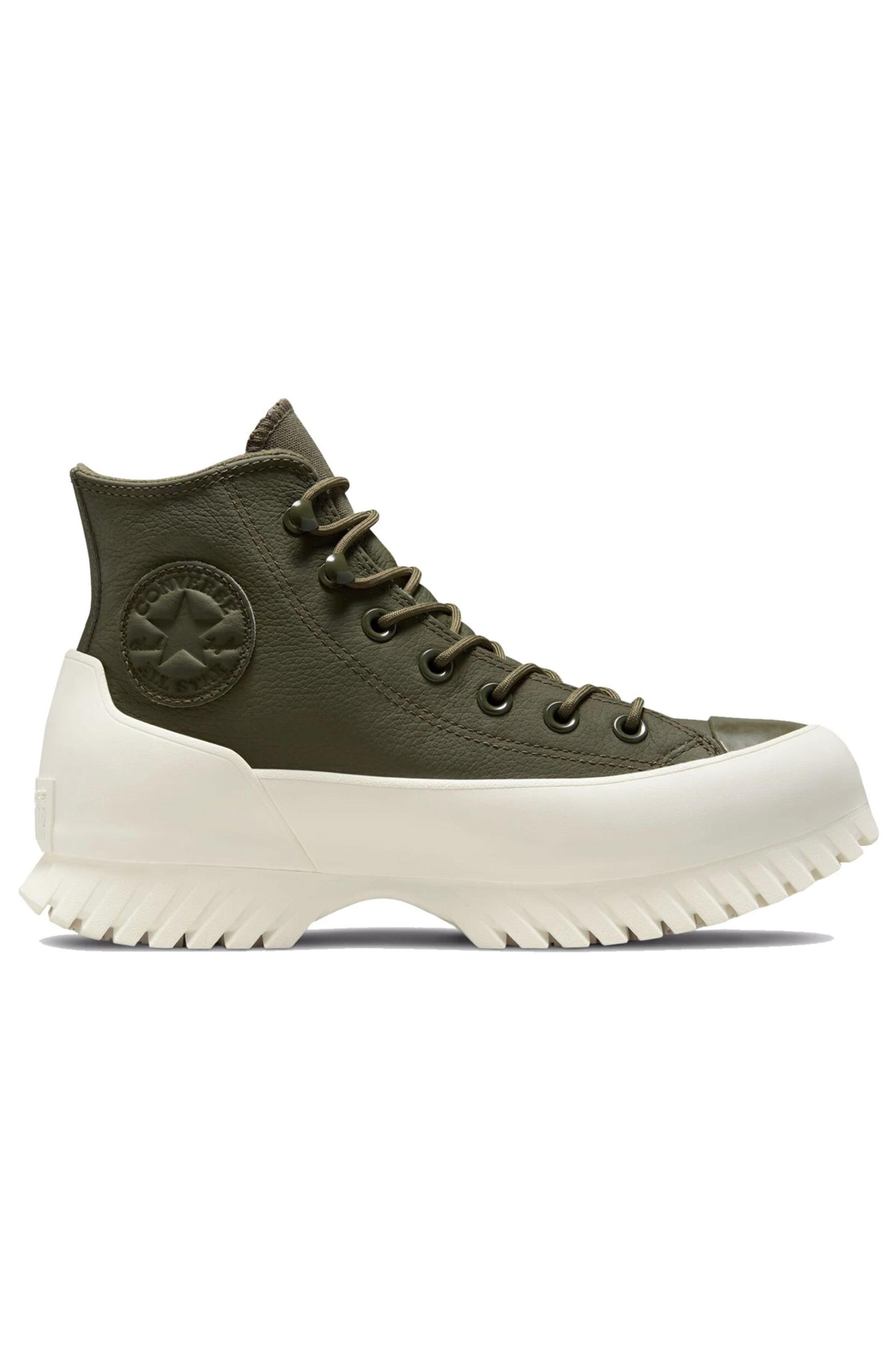 Converse Shoes CHUCK TAYLOR ALL STAR LUGGED WINTER 2.0 HI Cargo Khaki/Bold Mandarin/Egret