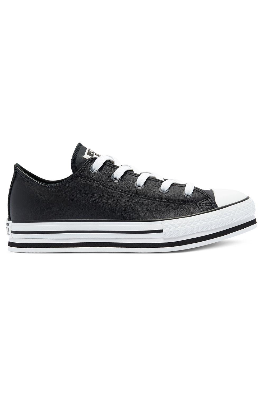 Converse Shoes CHUCK TAYLOR ALL STAR PLATFORM EVA OX Black/White/Black