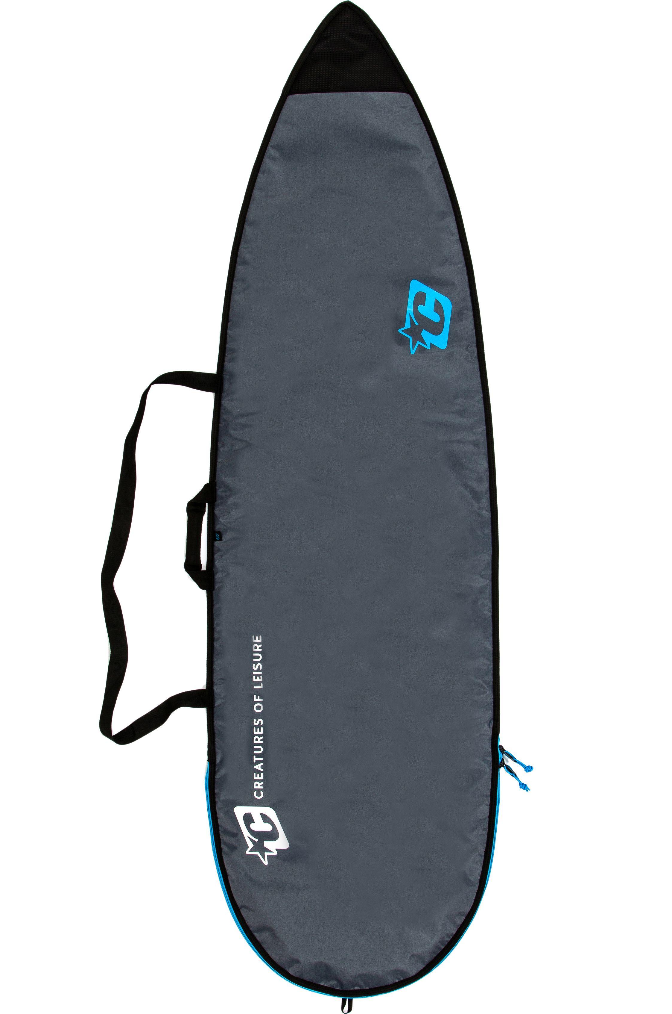 Creatures Boardbag 6'3 SHORTBOARD LITE Charcoal Cyan