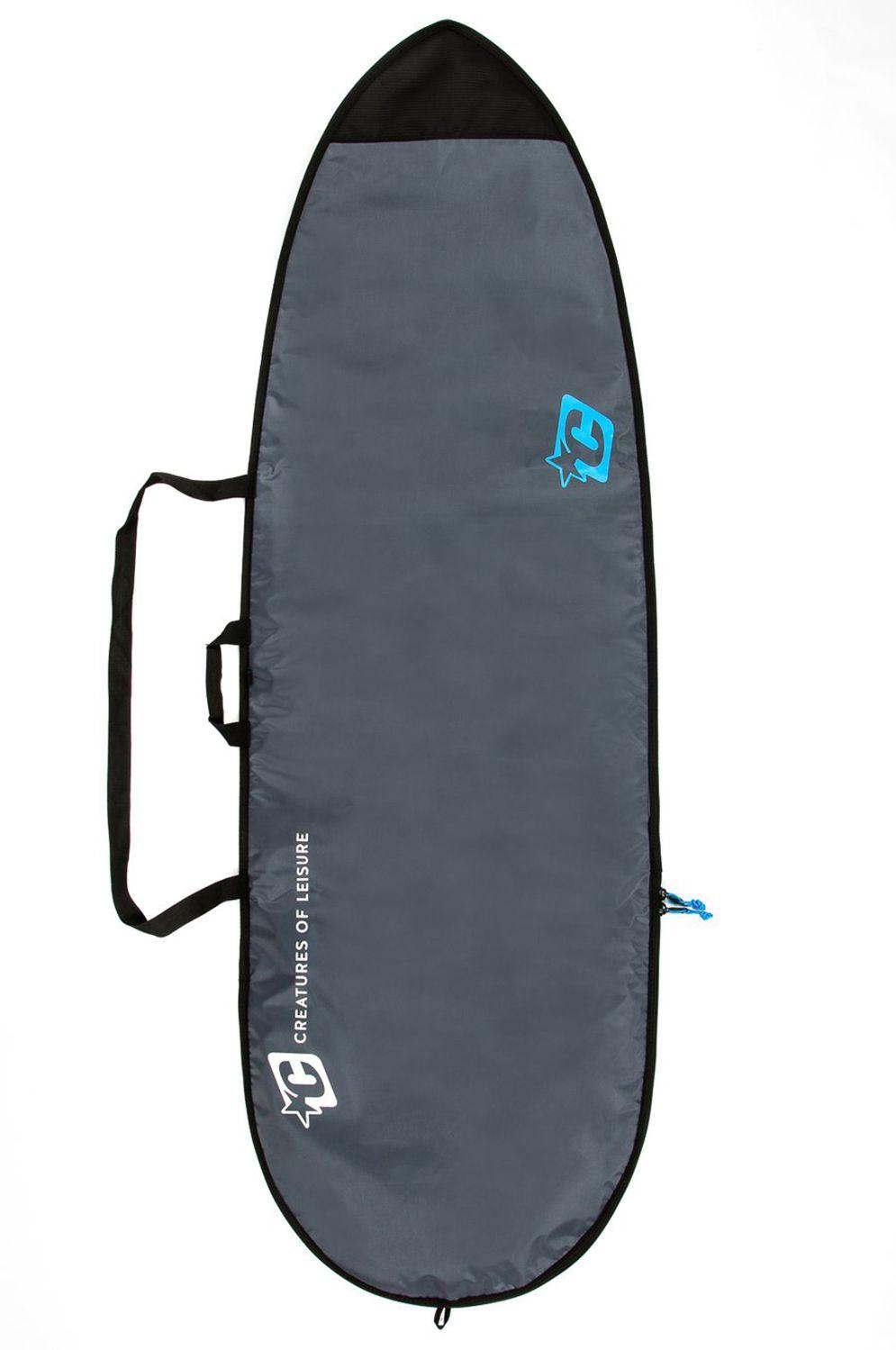 Creatures Boardbag 6'3 FISH LITE Charcoal Cyan