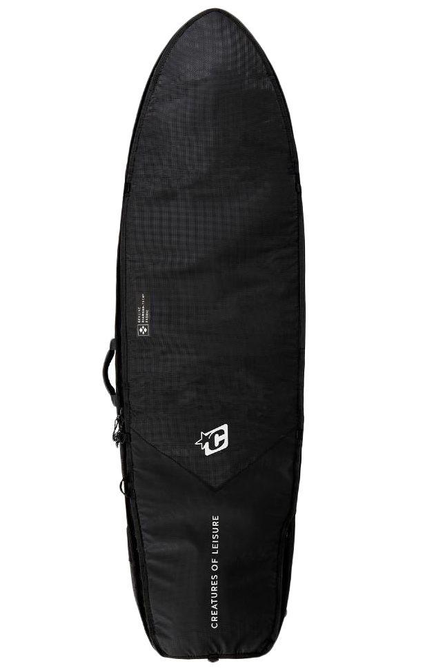 """Creatures Boardbag 5'10"""" FISH DOUBLE Black Silver"""