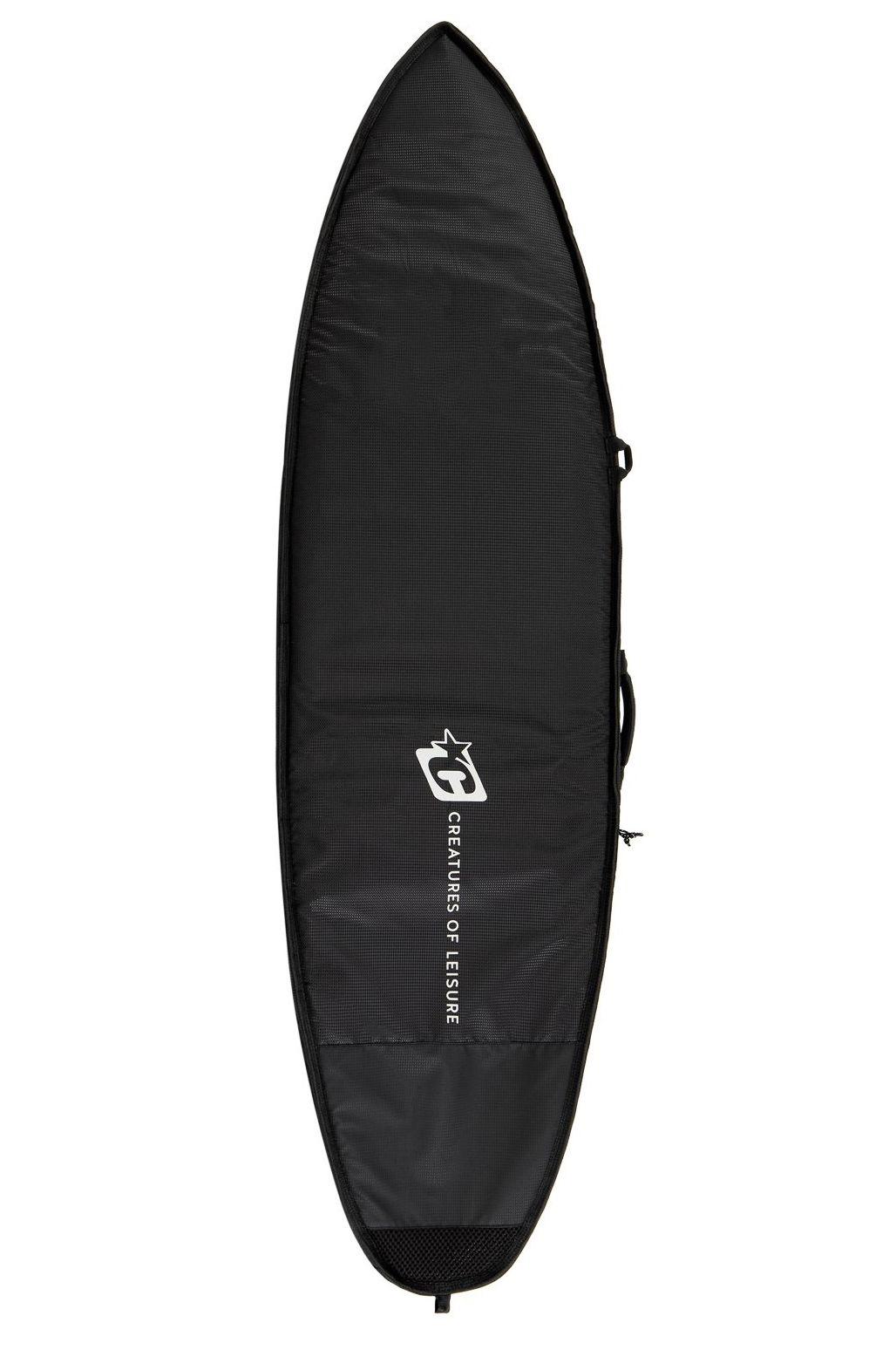 "Creatures Boardbag 6'0"" SHORTBOARD DAY USE Black Black"