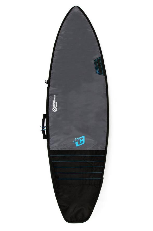 """Capa Creatures 6'7"""" SHORTBOARD DAY USE - TONAL COLLECTION Charcoal Cyan"""
