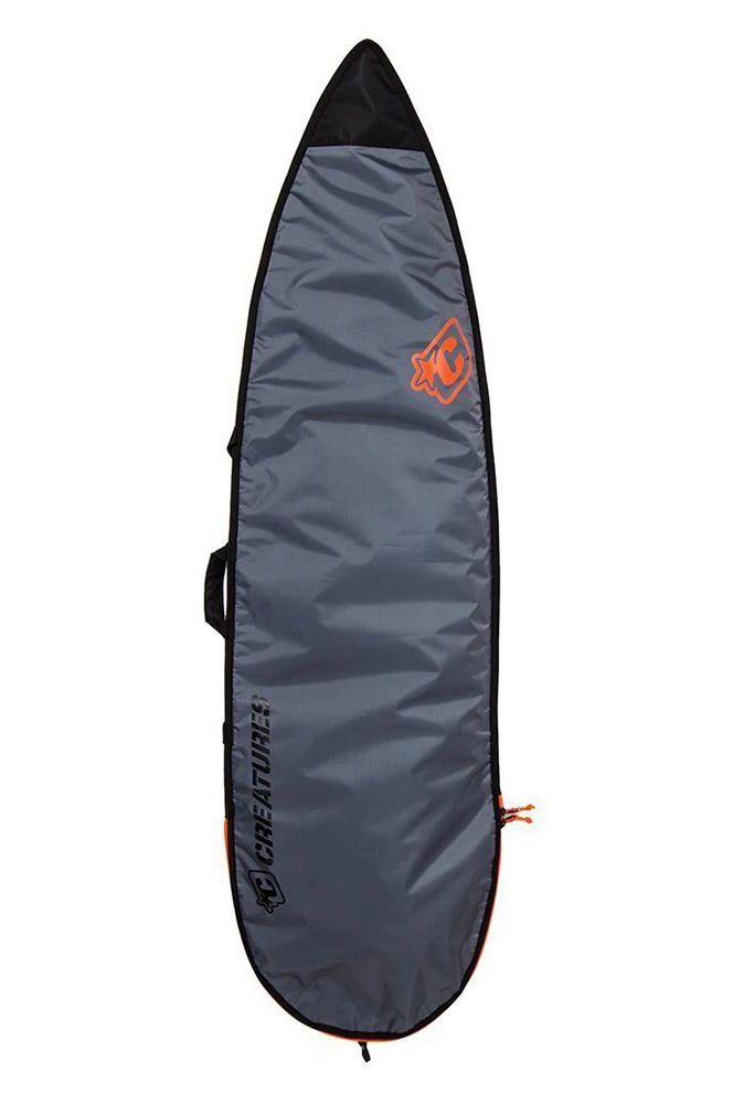 Creatures Boardbag 6'7 SHORTBOARD LITE Charcoal Orange