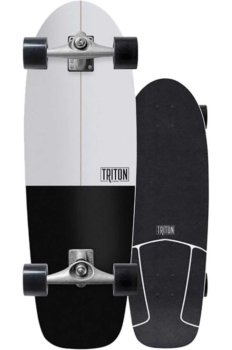 Skate Carver Triton BLACK STAR 30.5x9.875in Black