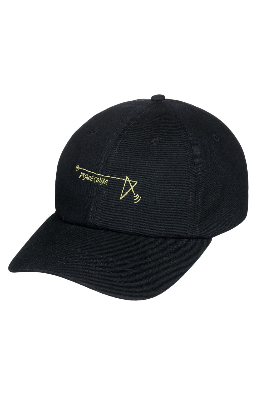 Bone DC Shoes STAR HEAD HAT Black