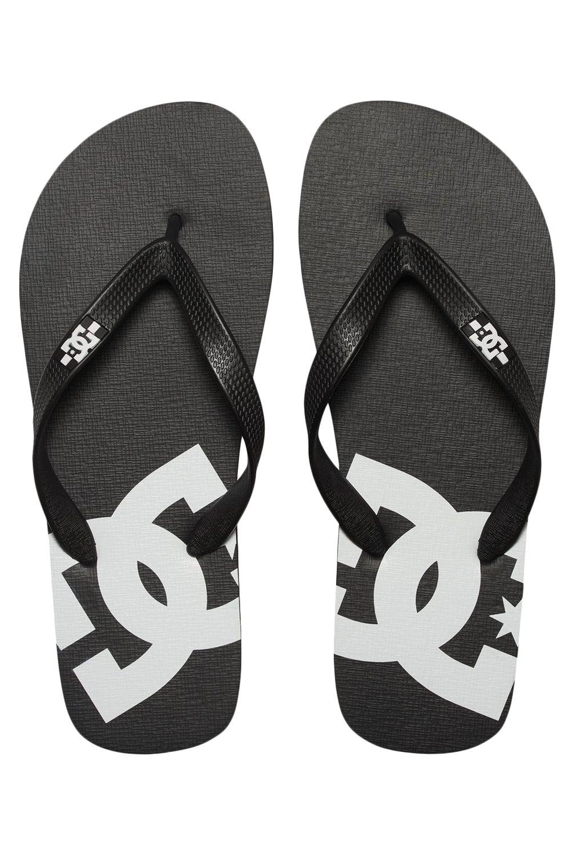 Chinelos DC Shoes SPRAY Black/Black/White