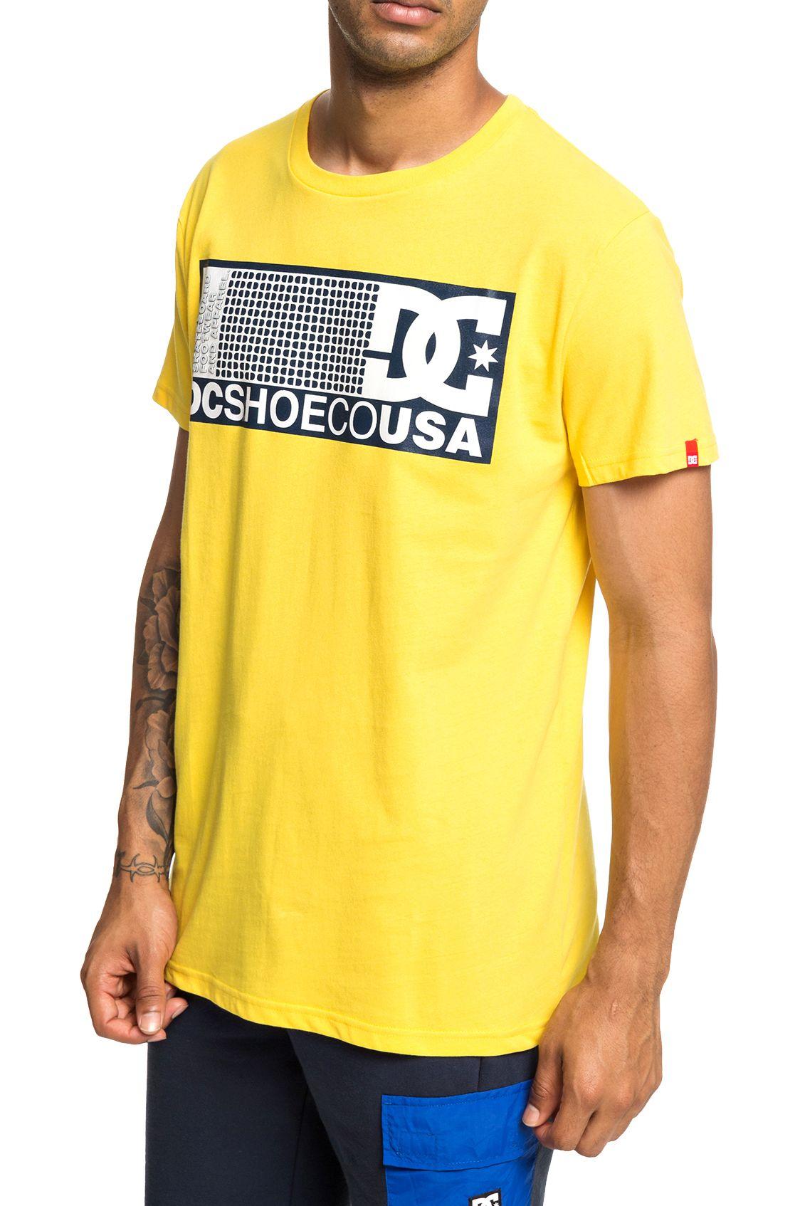 DC Shoes T-Shirt PILL SCRIBE Dandelion