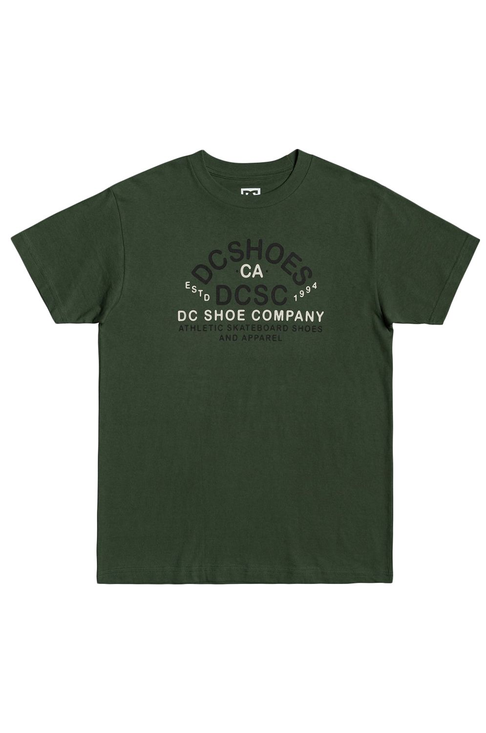 T-Shirt DC Shoes COMMON GROUND TSS Fatigue Green