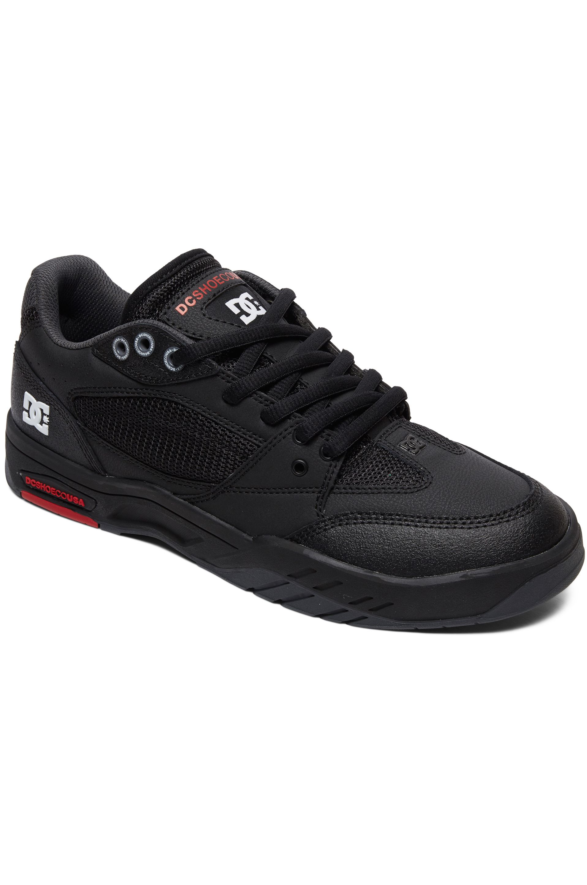 Tenis DC Shoes MASWELL Black/White/True Red
