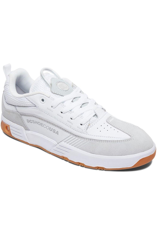 Tenis DC Shoes LEGACY 98 SLIM SE White/Gum