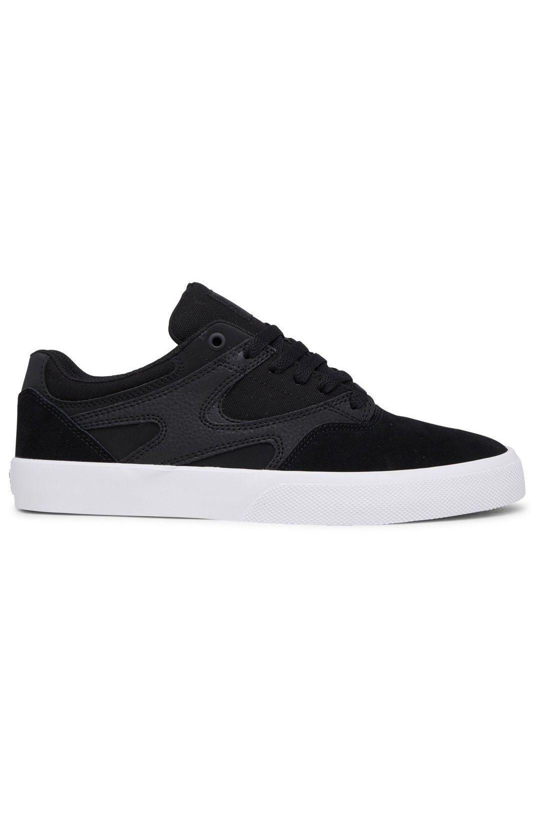 DC Shoes Shoes KALIS VULC S Black/Black/White