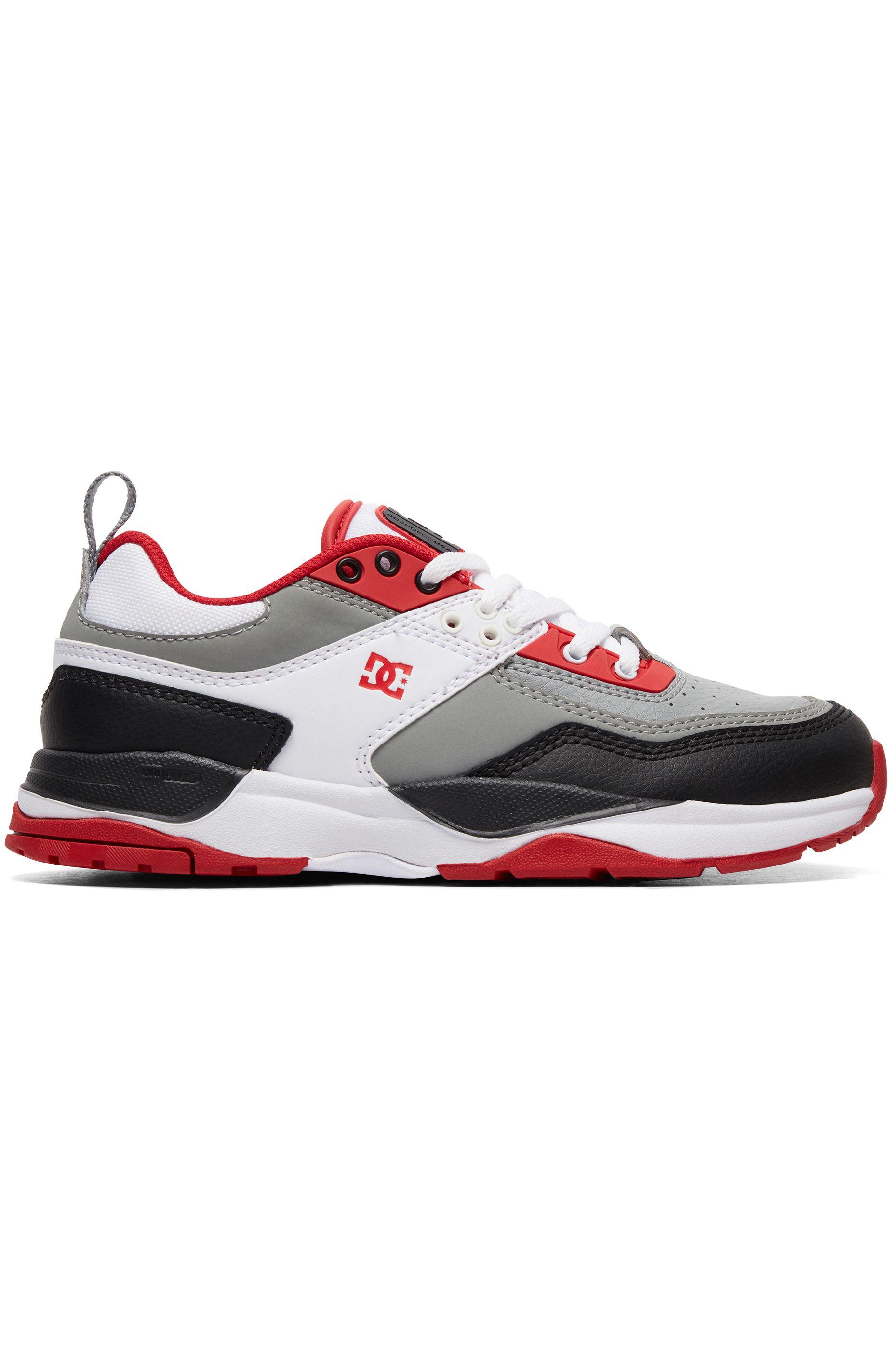 DC Shoes Shoes E.TRIBEKA White/Grey/Red