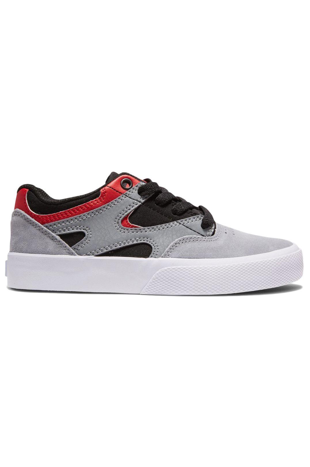 DC Shoes Shoes KALIS VULC Black/Grey/Red