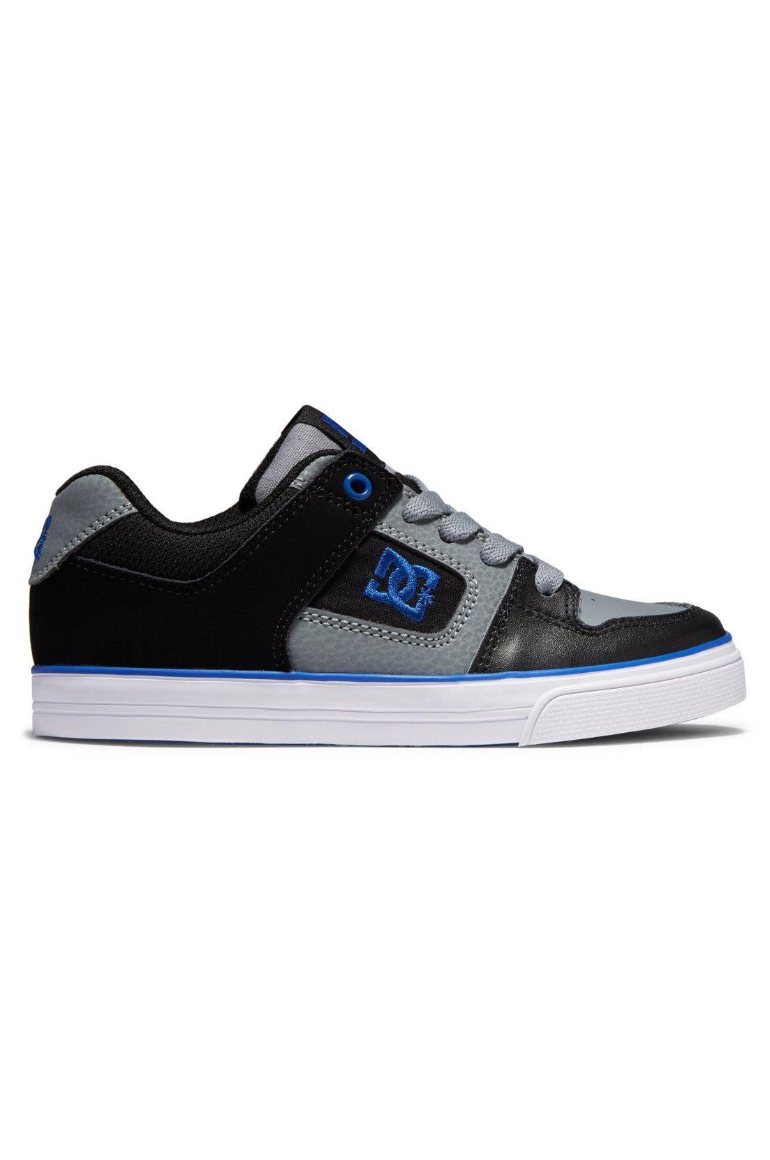 Tenis DC Shoes PURE Black/Grey/Blue