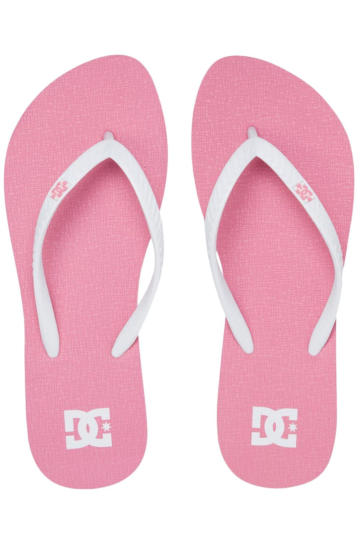 Chinelos DC Shoes SPRAY GRAFFIK Pink/White