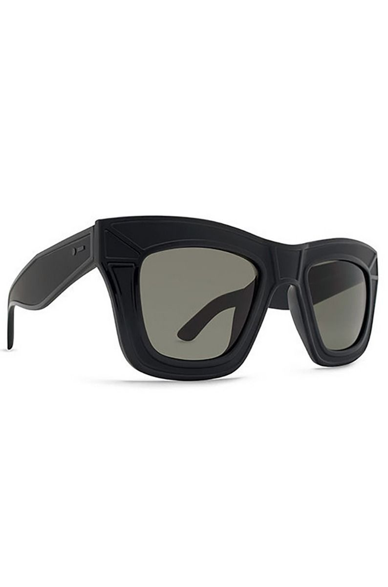 Oculos Dot Dash HACKTAVIST - BLACK SATIN / RETRO GREY Black Satin/ Grey
