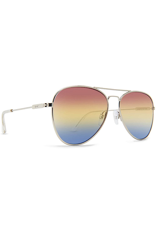 Oculos Dot Dash AEROGIZMO Silver Gloss / Retro Fade (Red-White Blue)