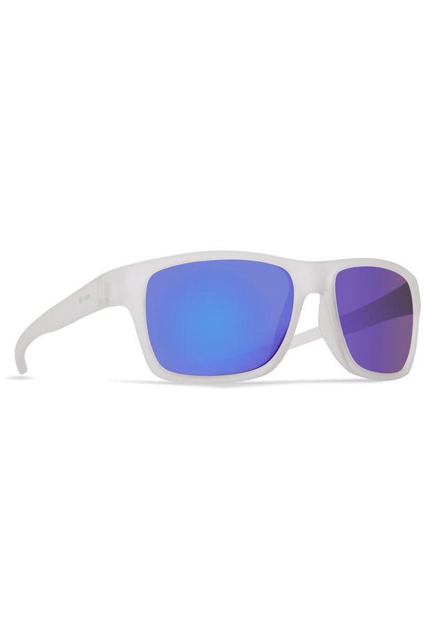 Oculos Dot Dash FUTUREMAN Frosted Satin / Blue Chrome