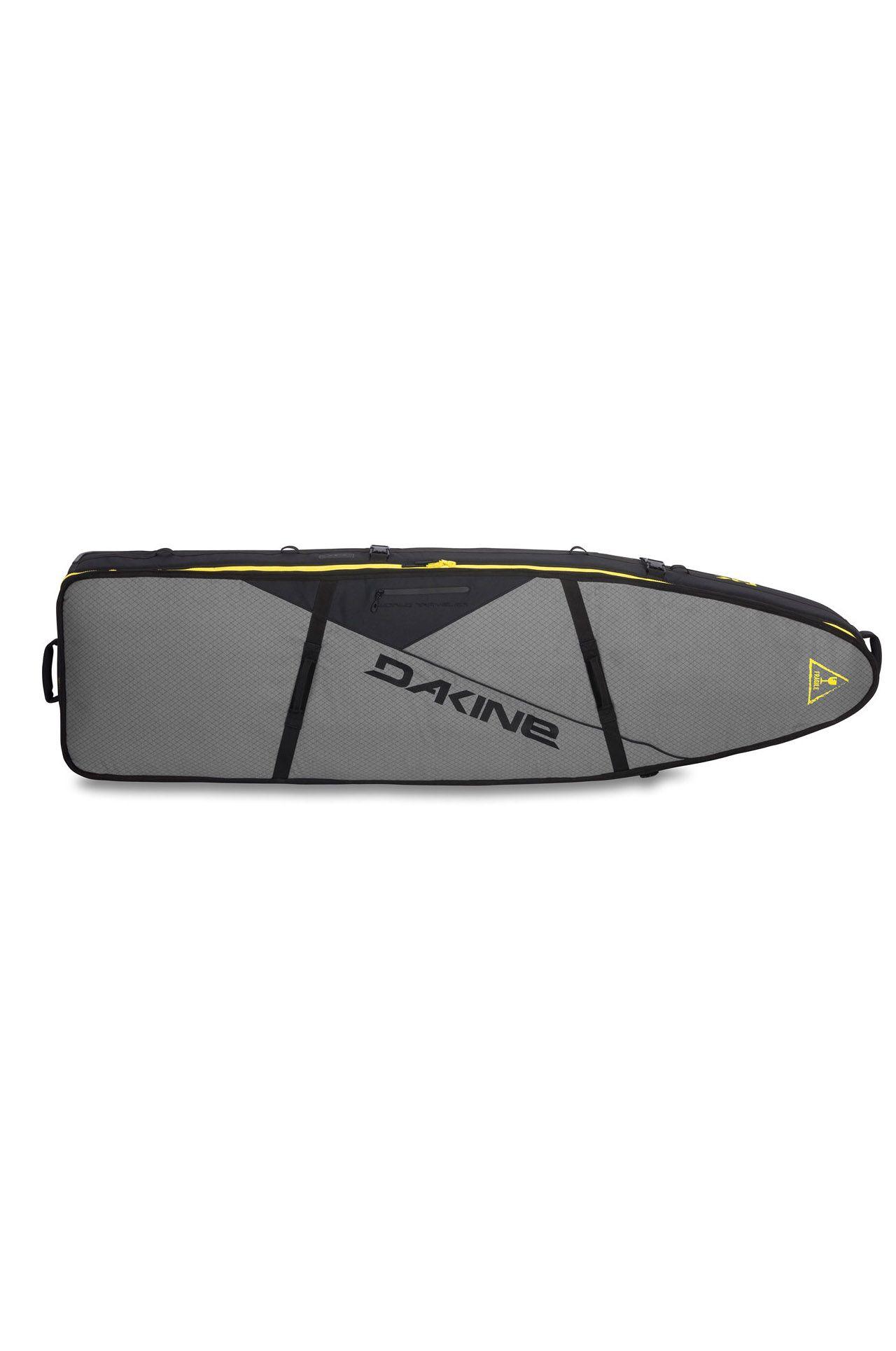 Dakine Boardbag 6'6 WORLD TRAVELER SURFBOARD BAG QUAD Carbon