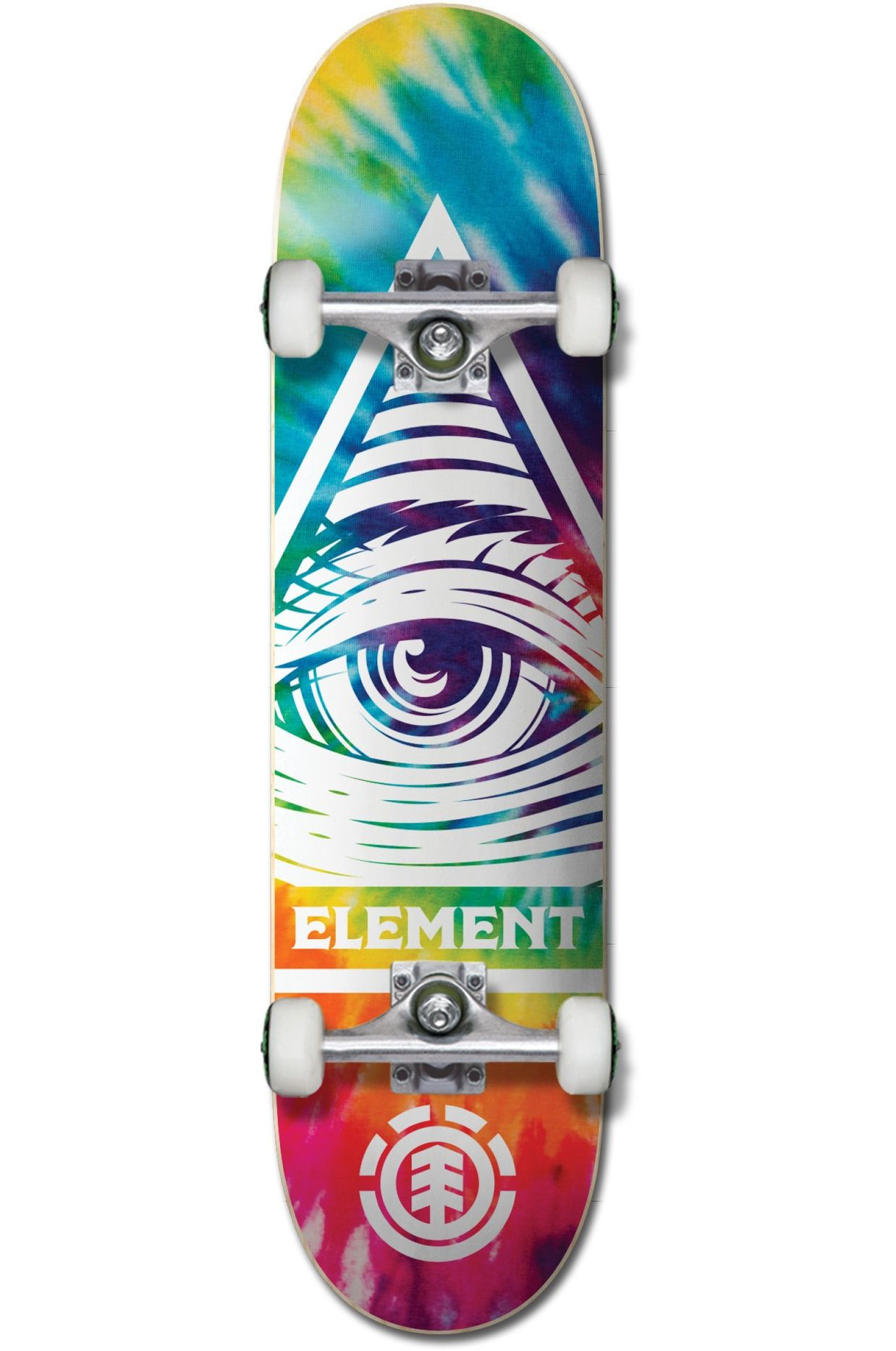 "Element Skate 8"" EYE TRIPPIN RAINB Assorted"