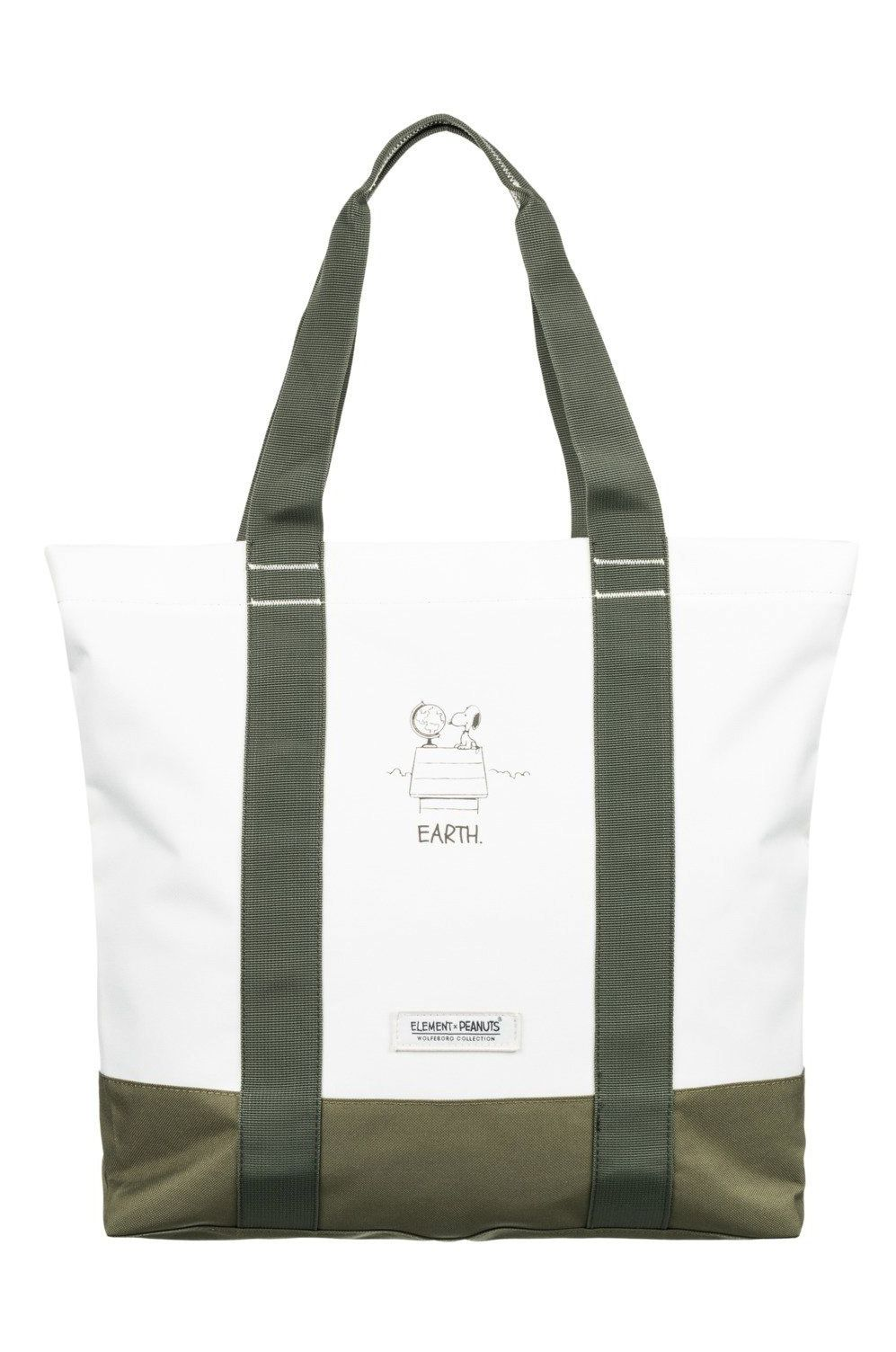 Saco Element CARRIER PEANUTS TOTE PEANUTS Off White