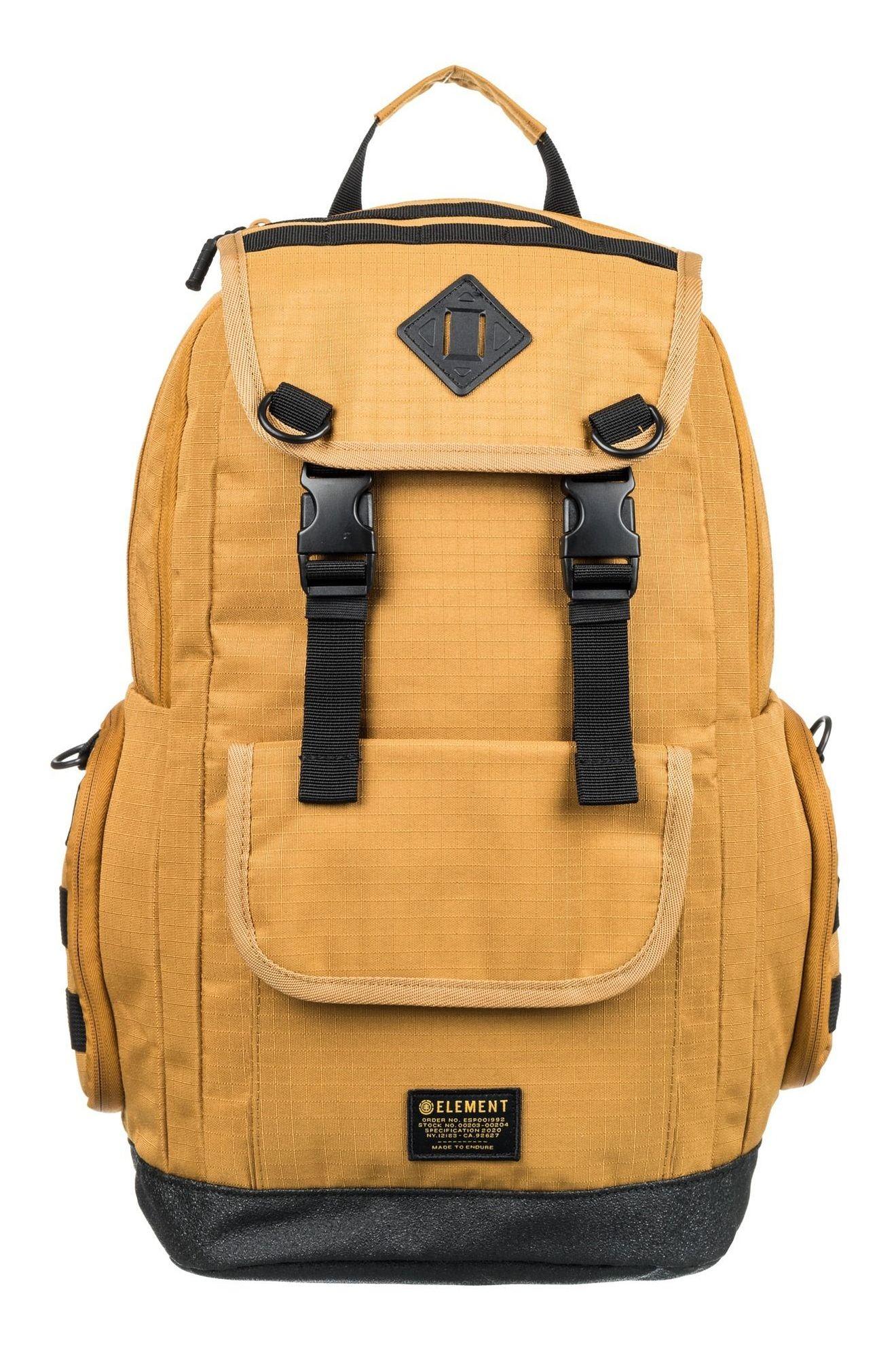Element Backpack CYPRESS RECRUIT BPK Gold Brown