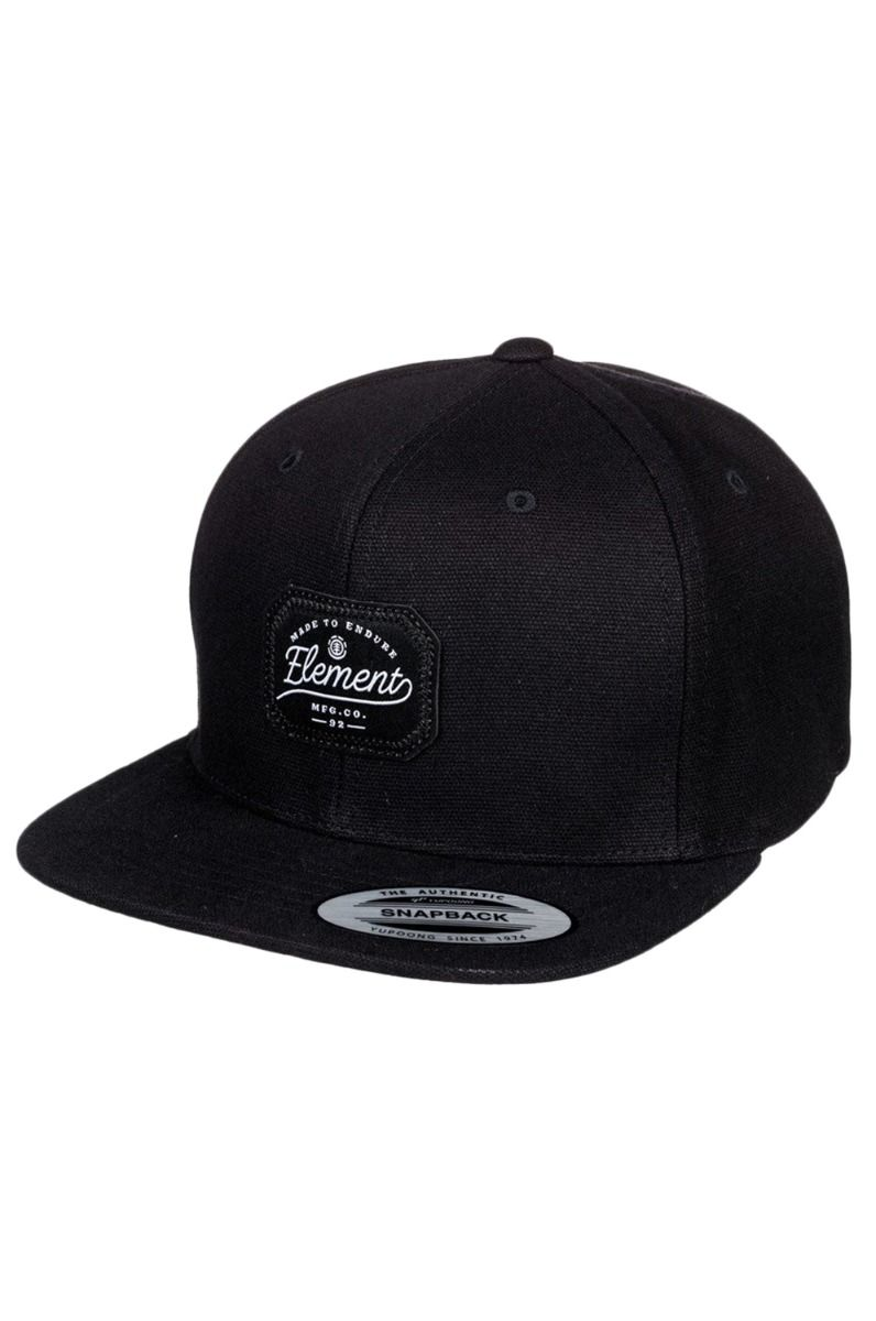 Bone Element TRADER CAP Flint Black