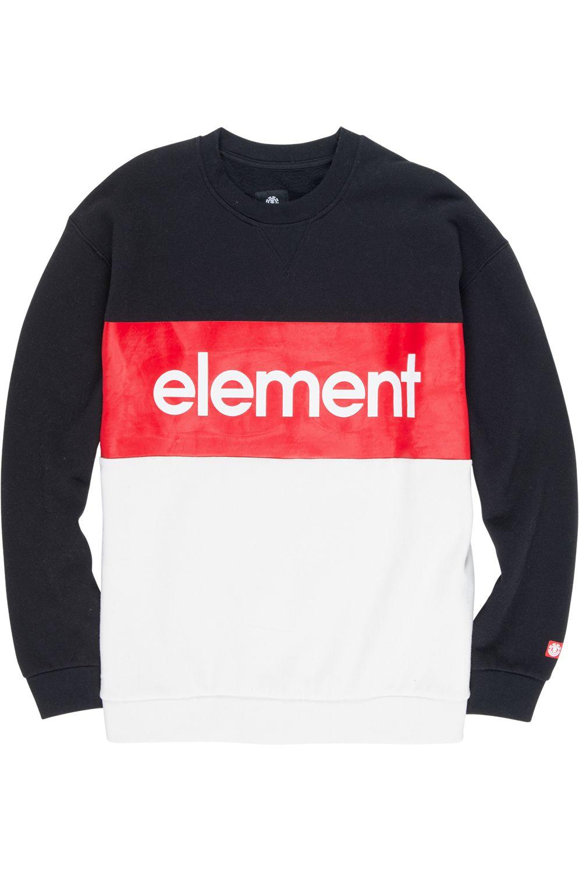 Sweat Basica Element PRIMO DIVISION ELEMENT PRIMO Flint Black
