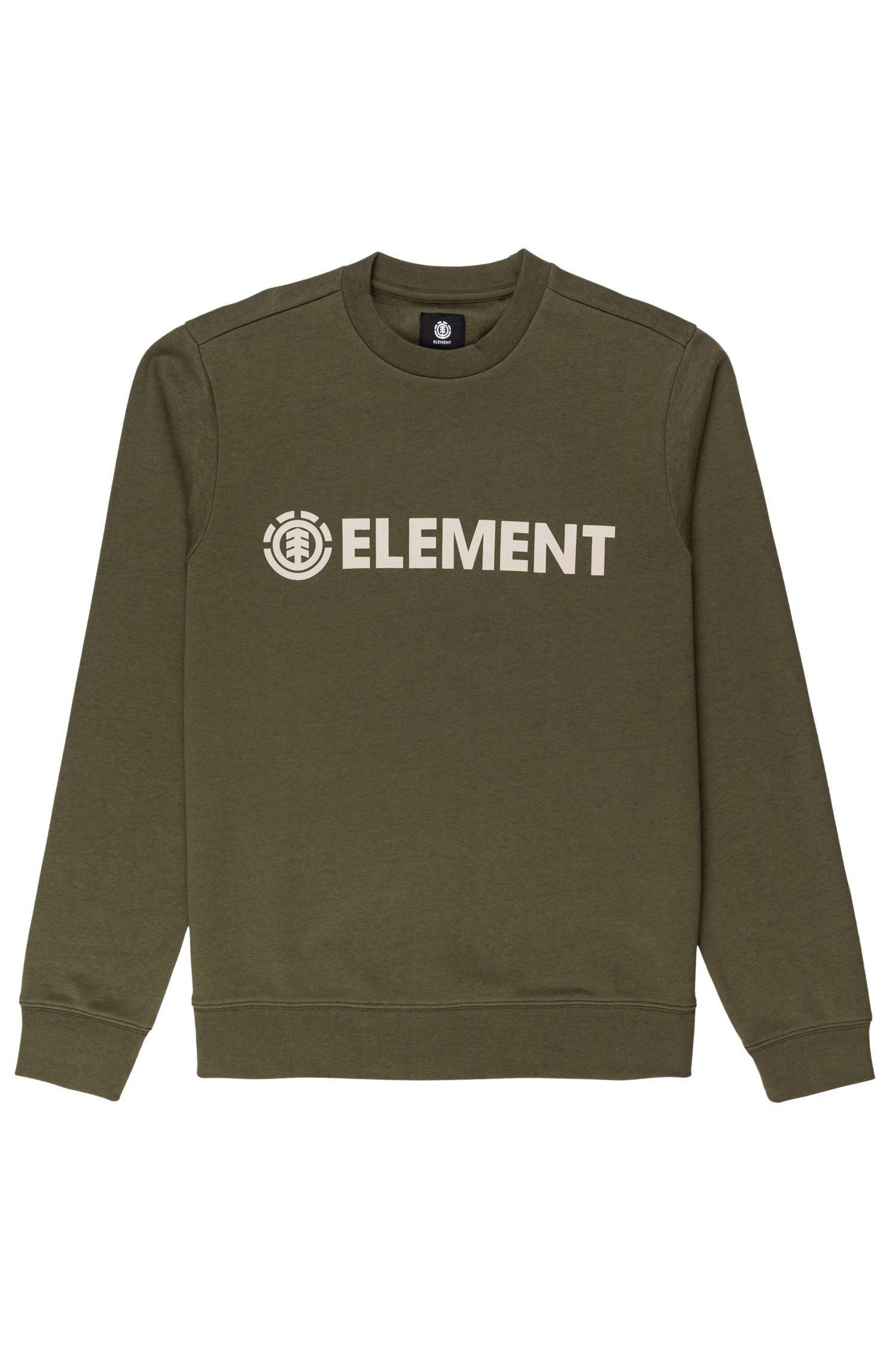 Sweat Basica Element BLAZIN CREW Army