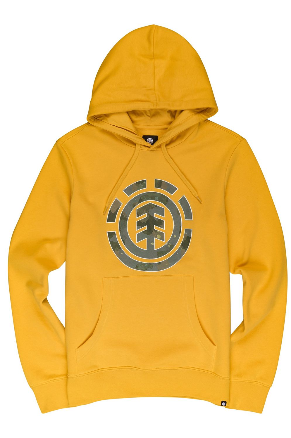 Element Sweat Hood WATER CAMO ICON FILL Old Gold