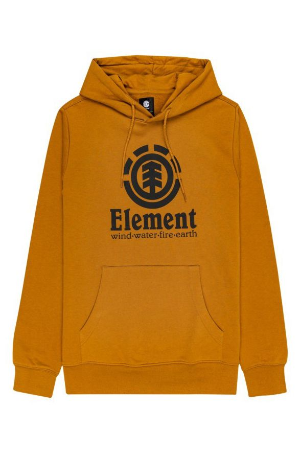 Element Sweat Hood VERTICAL HOOD Golden Brown