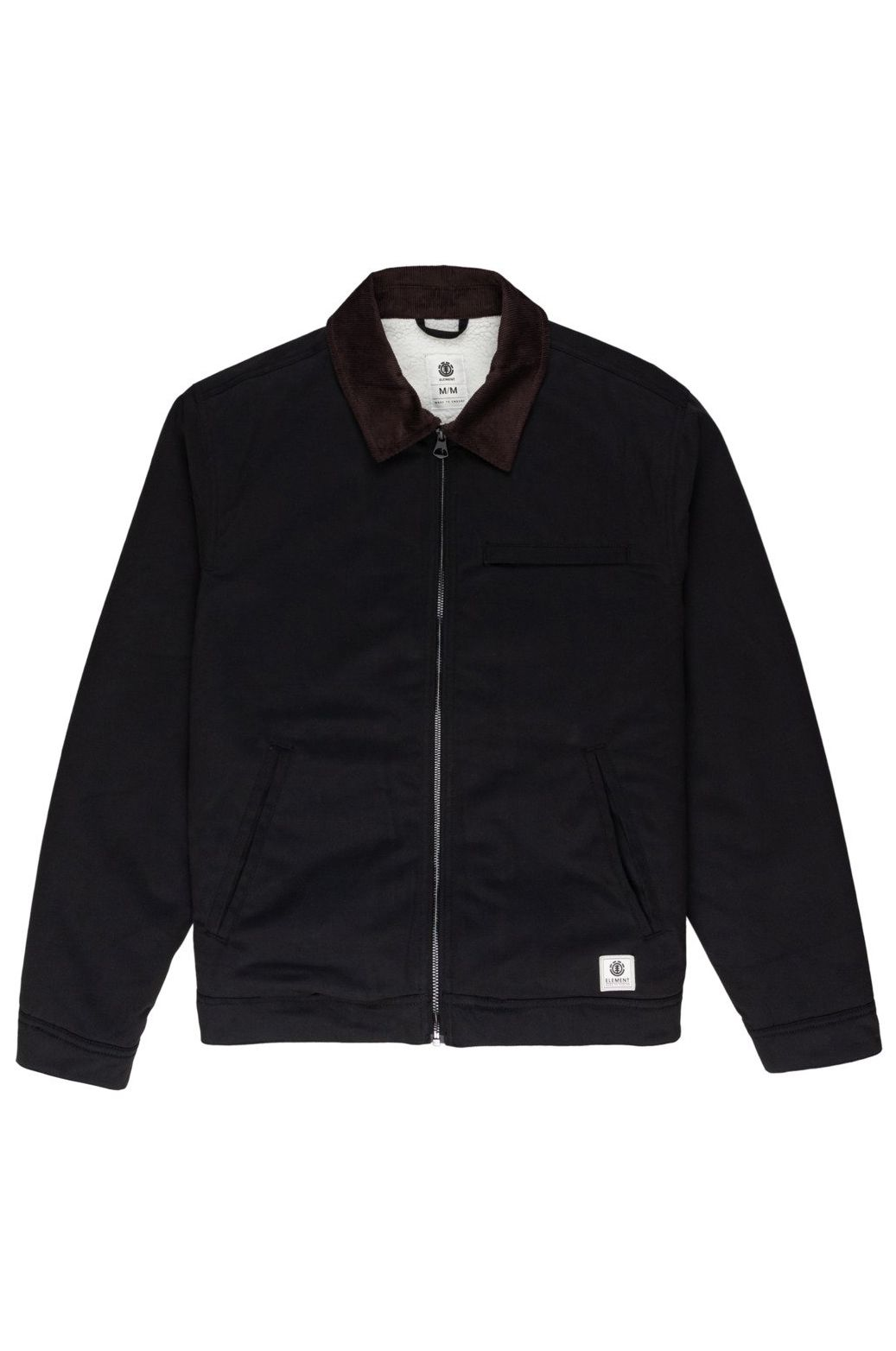 Element Jacket CRAFTMAN SHERPA WOLFEBORO Flint Black