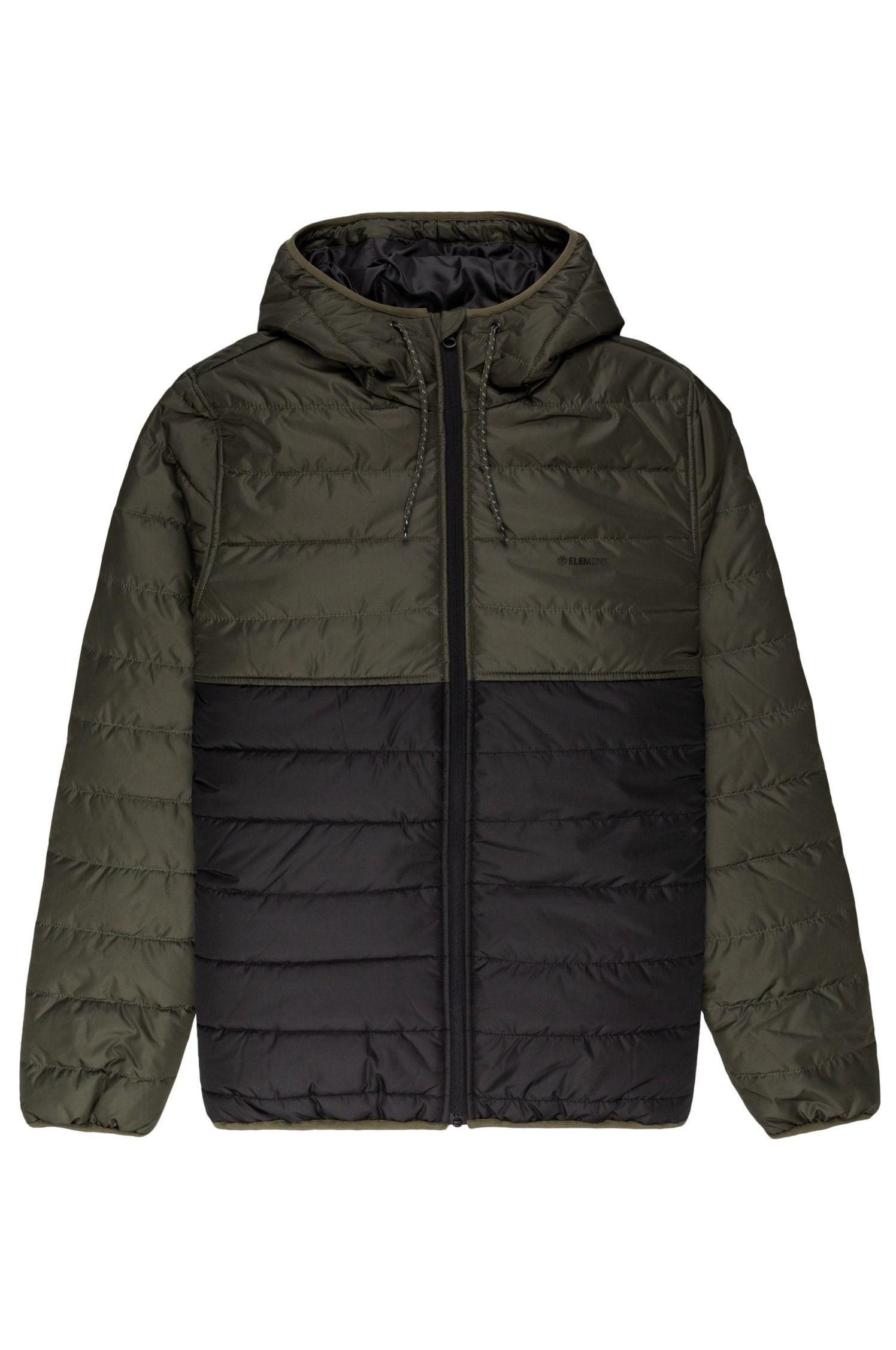 Element Jacket ALDER PUFF FUNDAMENT SPORTING GOOD PROGR. Forest Night
