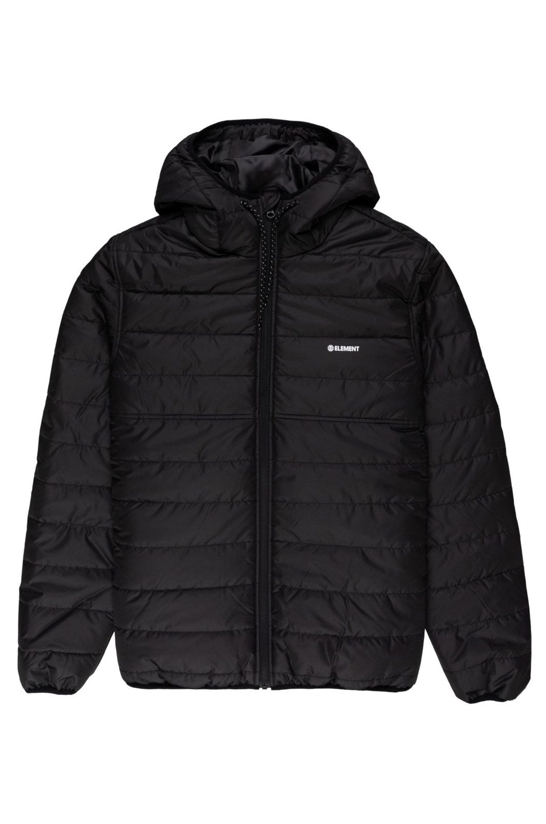 Element Jacket ALDER PUFF FUNDAMENT SPORTING GOOD PROGR. Flint Black