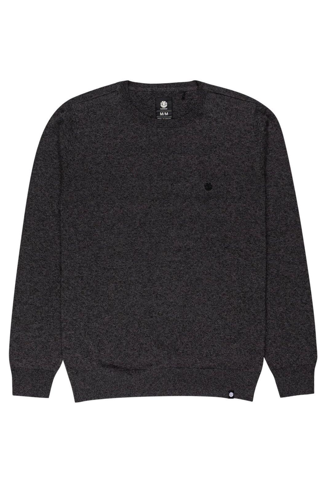 Element Sweater CREW Charcoal Heather