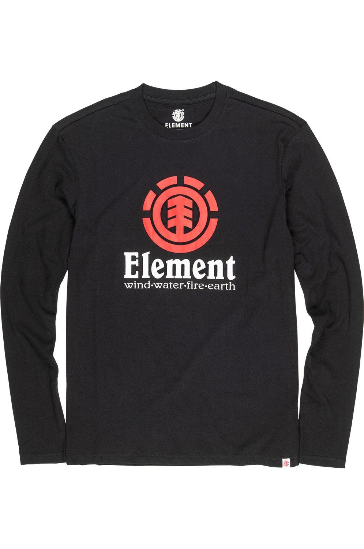 L-Sleeve Element VERTICAL LS Flint Black