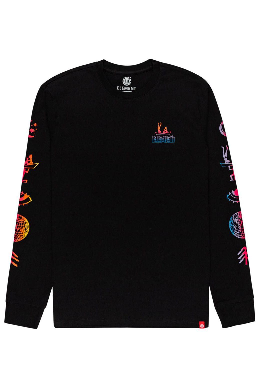 Element L-Sleeve CABEZA LS Flint Black